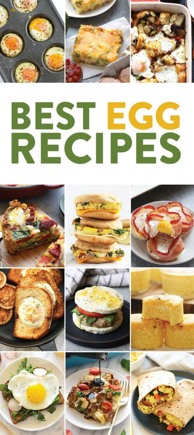 12 Egg Recipes for Breakfast - Fit Foodie Finds