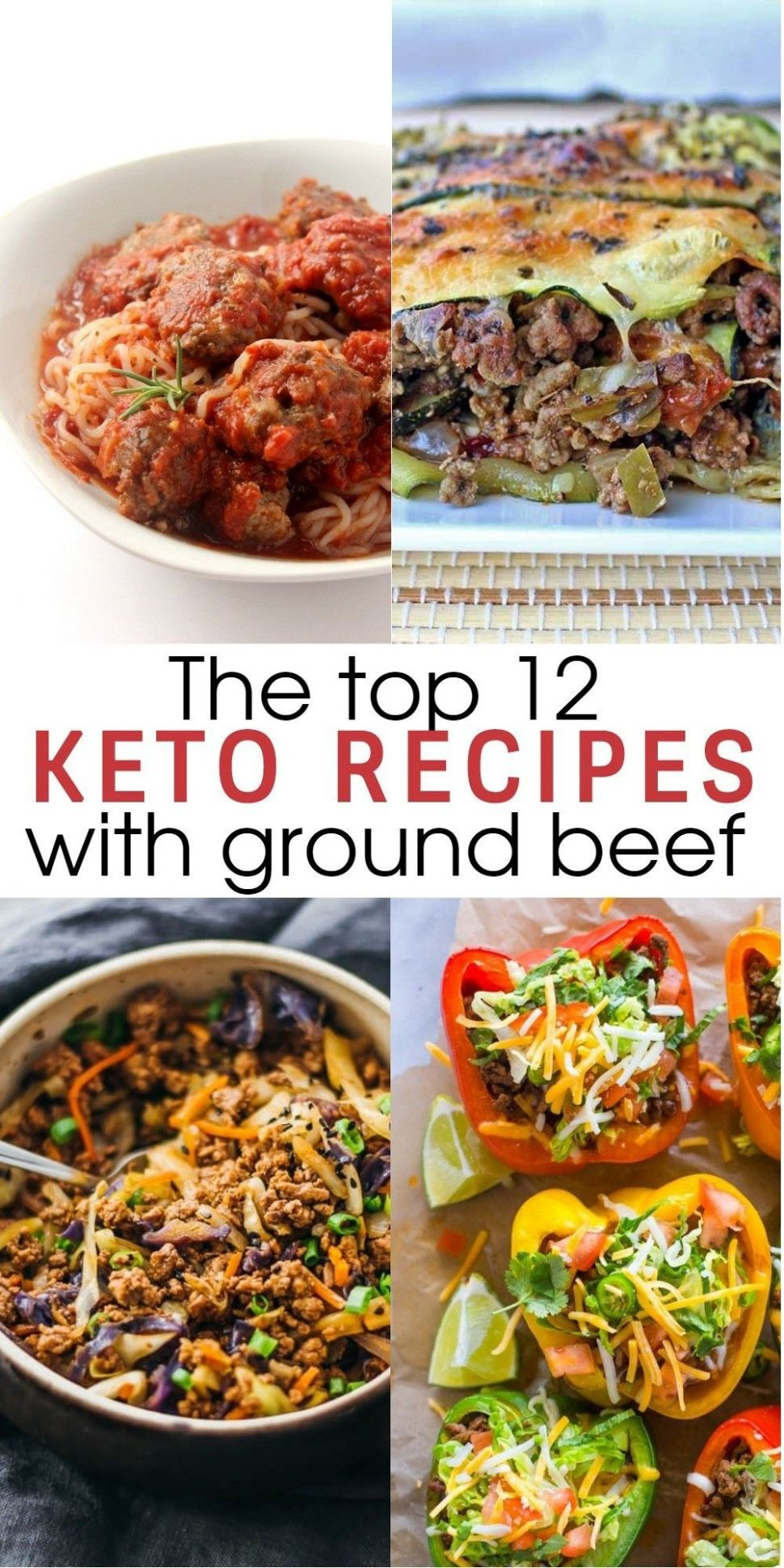 12 Flavorful and Easy Keto Recipes With Ground Beef To Try for ...