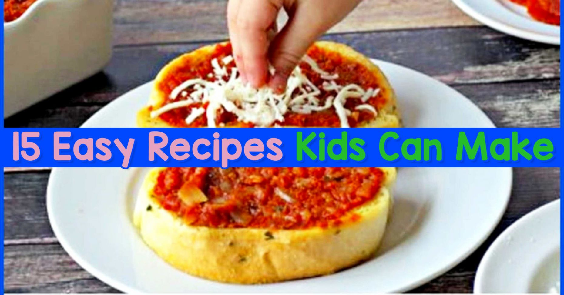 12 Fun & Easy Recipes for Kids To Make - Clever DIY Ideas