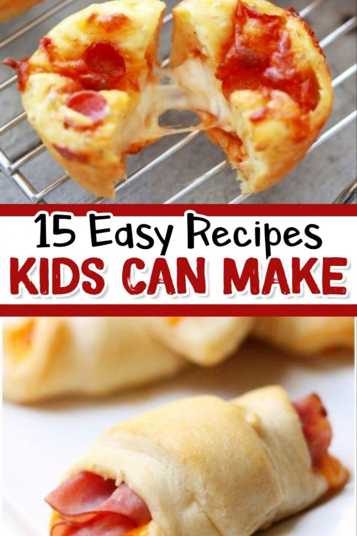 12 Fun & Easy Recipes for Kids To Make | Fun easy recipes, Kids ...