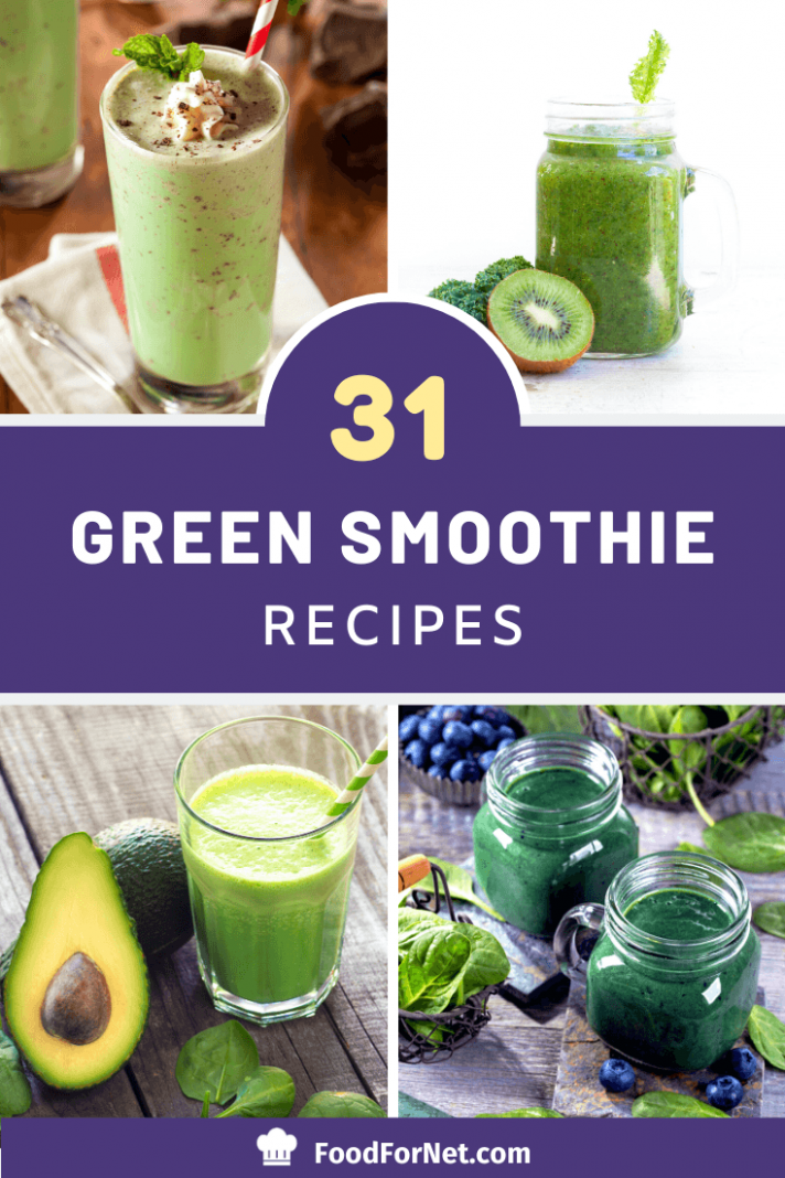 12 Green Smoothies That Will Even Appeal To Veggie Haters