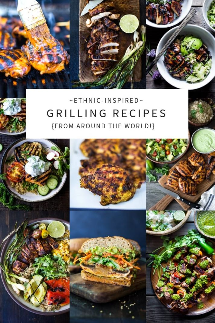 12 Grilling Recipes from around the Globe! - Vegetarian Recipes On The Grill