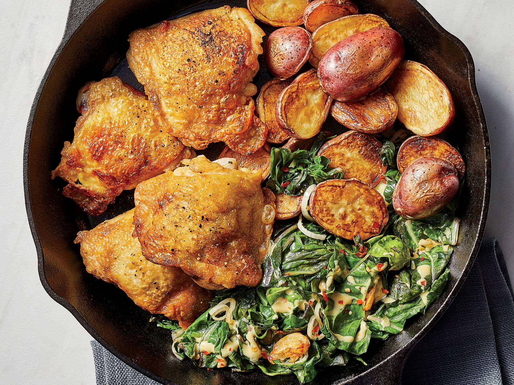 12 Healthy Chicken Thigh Recipes   Cooking Light