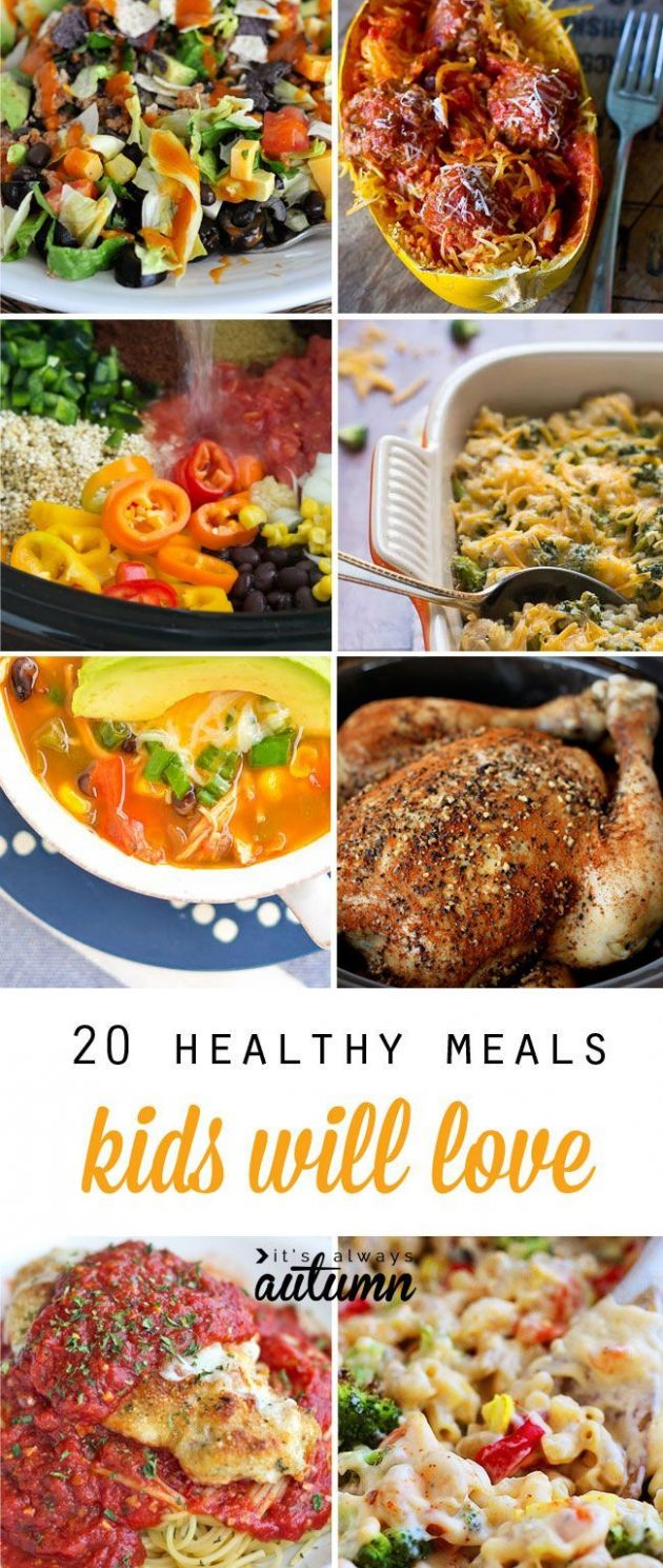 12 healthy easy recipes your kids will actually want to eat | Easy ...