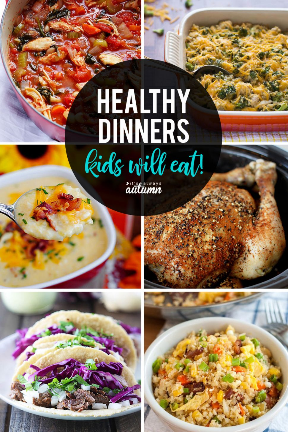 12 healthy easy recipes your kids will actually want to eat - It's ...