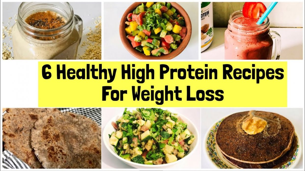 12 Healthy High Protein Recipes For Weight Loss | Indian High ...