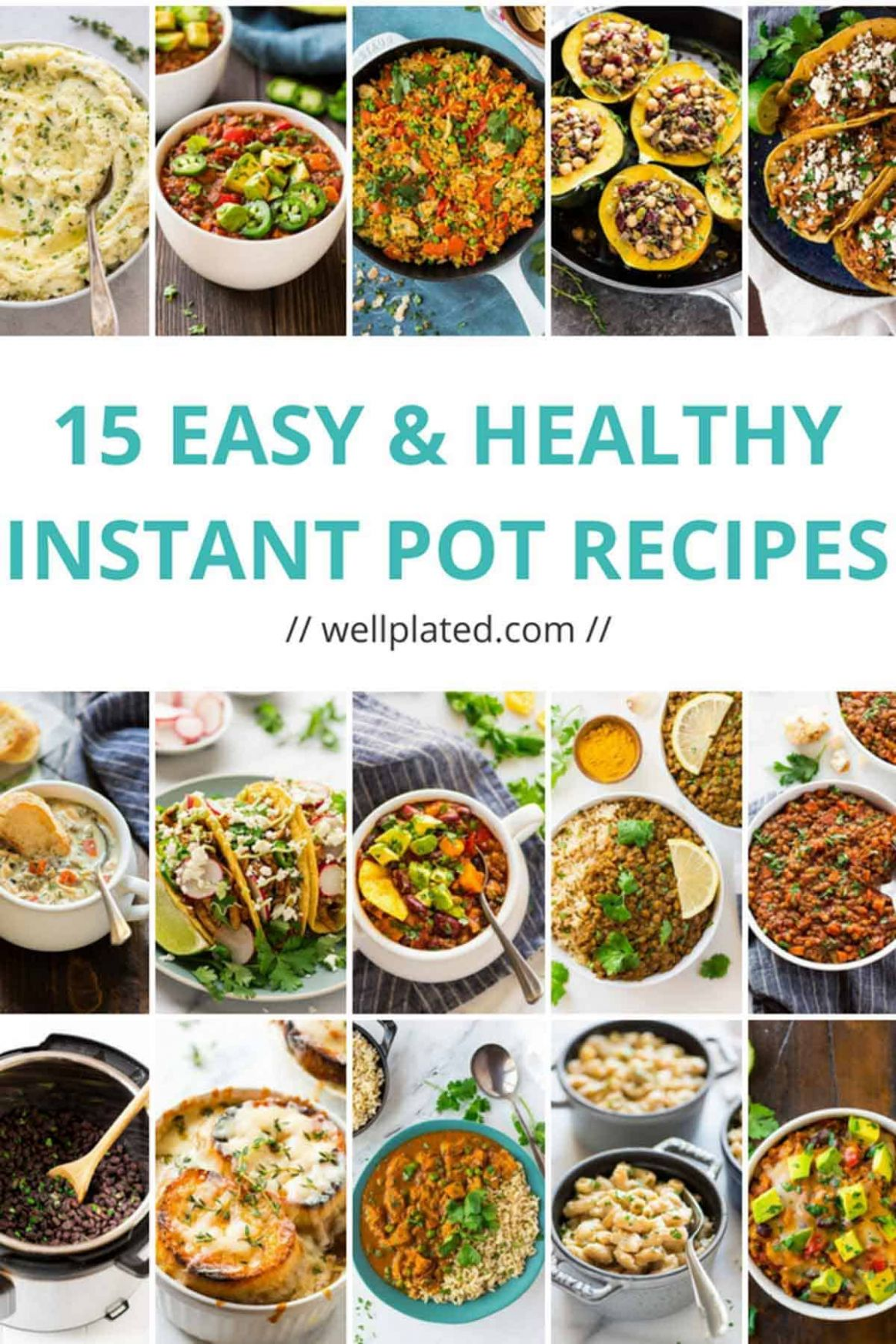 12 Healthy Instant Pot Recipes That Anyone Can Make - Simple Recipes Healthy Dinner