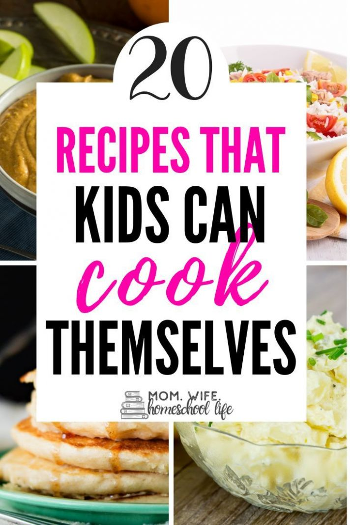 12 Healthy Recipes Kids Can Cook! | Food recipes, Recipes kids can ...