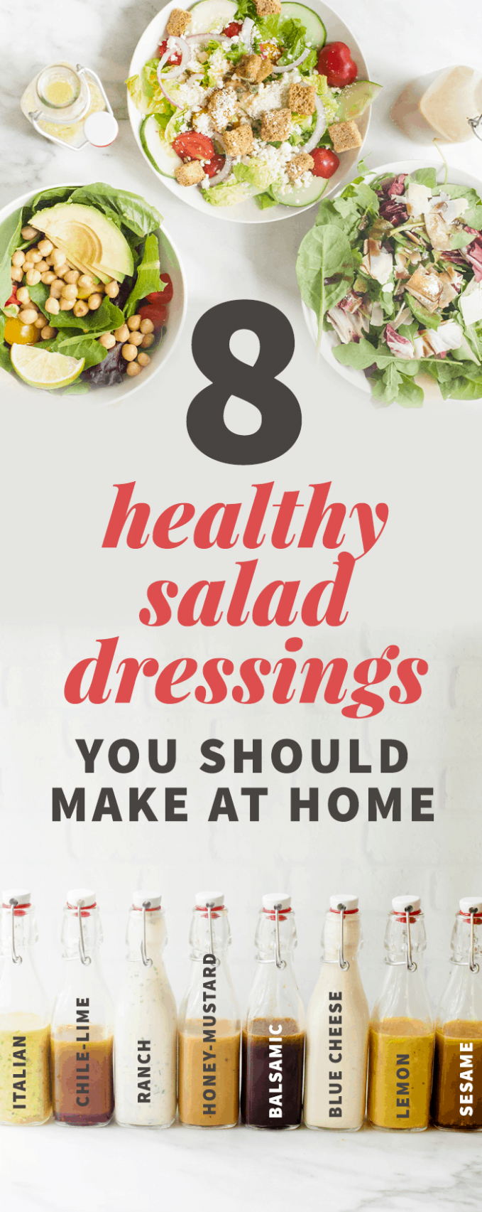 12 Healthy Salad Dressing Recipes You Should Make at Home | Wholefully - Salad Recipes And Dressings
