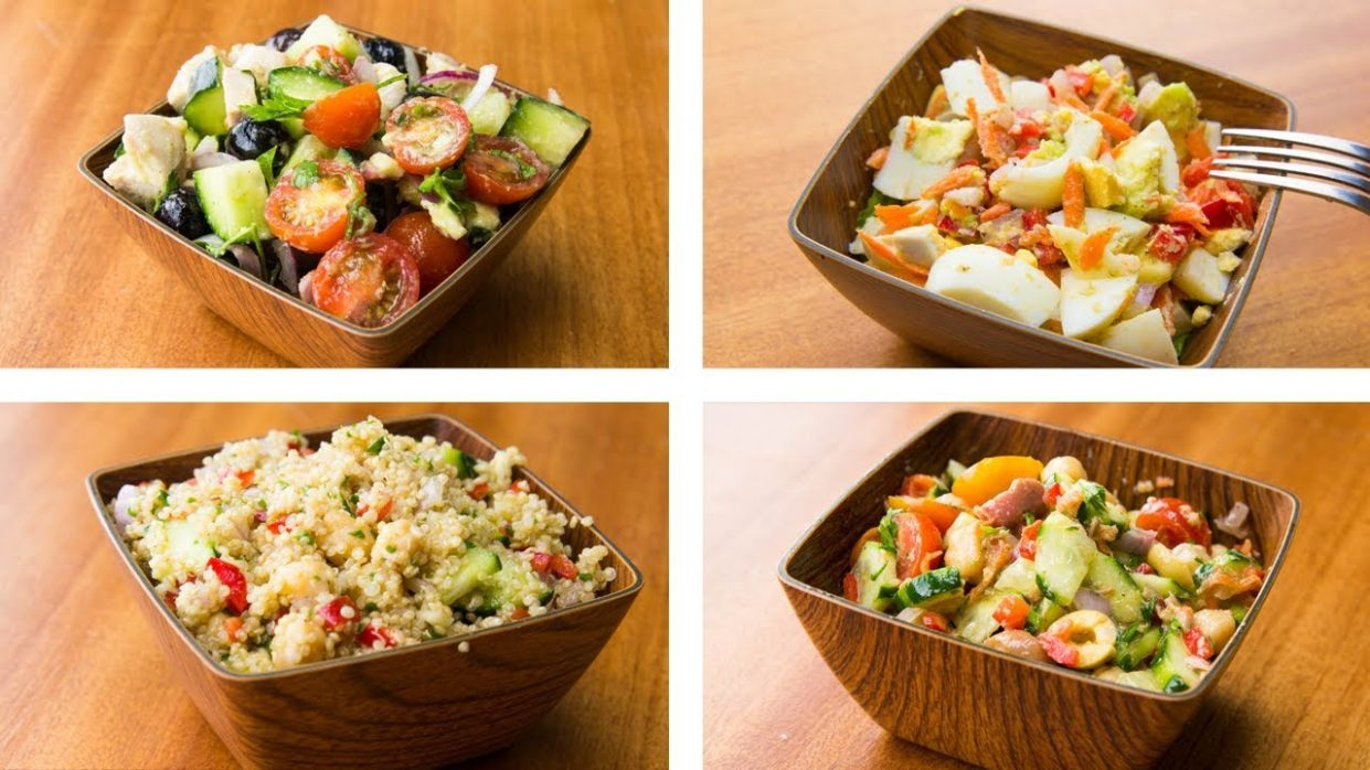12 Healthy Salad Recipes For Weight Loss | Easy Salad Recipes