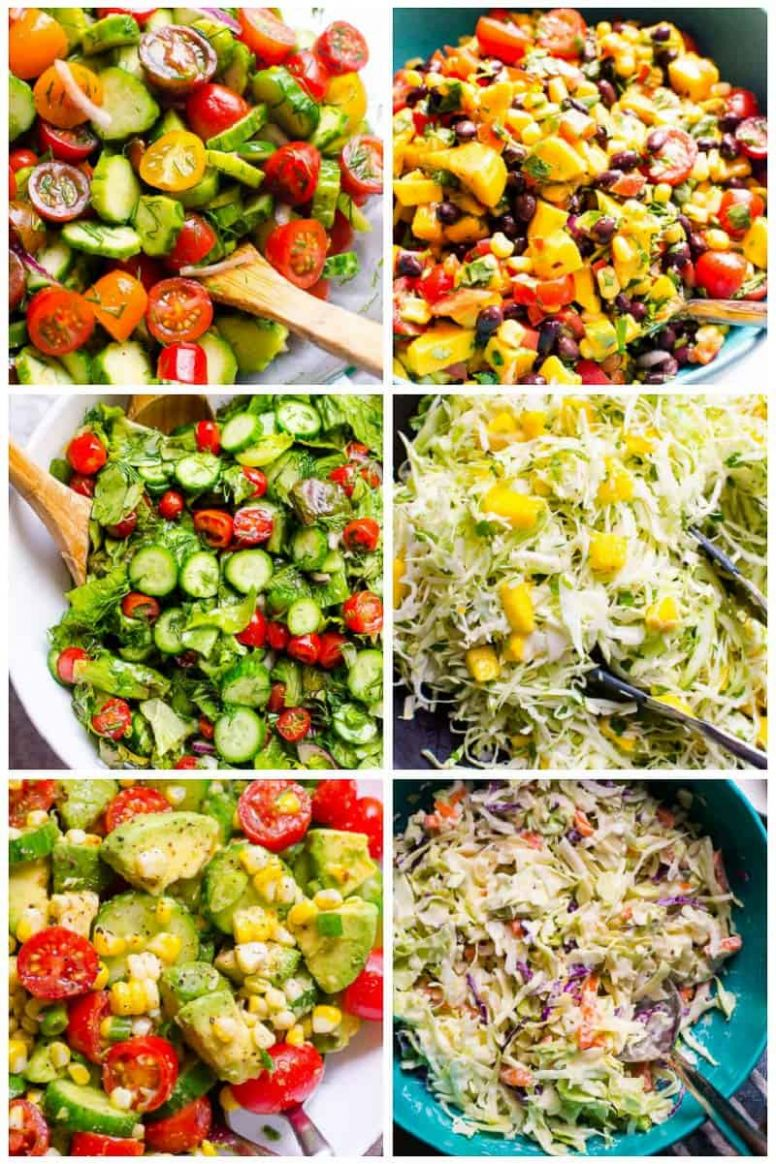 12 Healthy Salad Recipes that Don't Taste Like Kale - iFOODreal ...