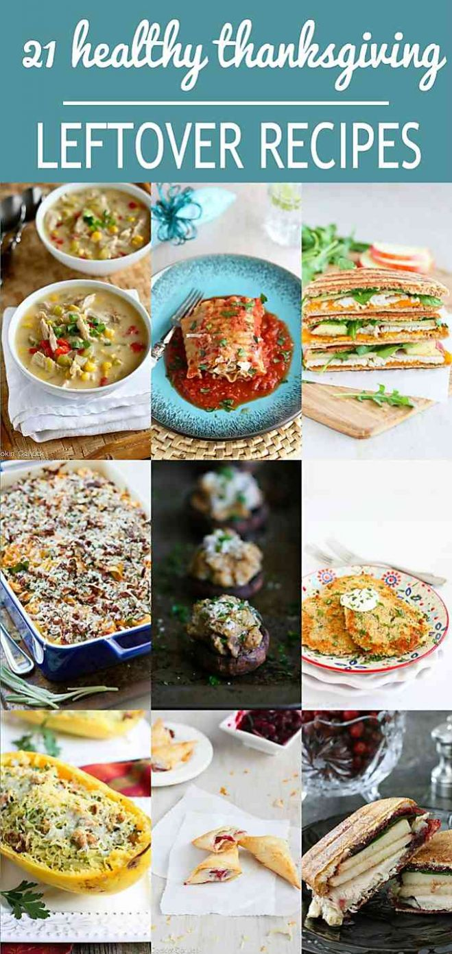12 Healthy Thanksgiving Leftover Recipes - Cookin Canuck