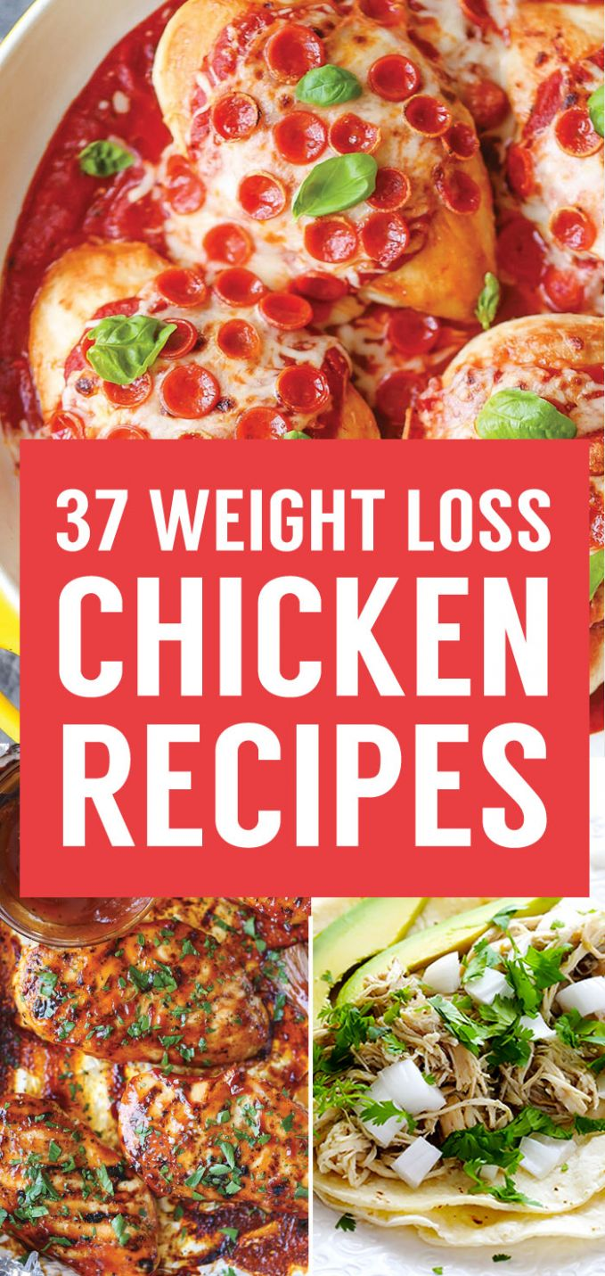12 Healthy Weight Loss Chicken Recipes That Are Packed With ..