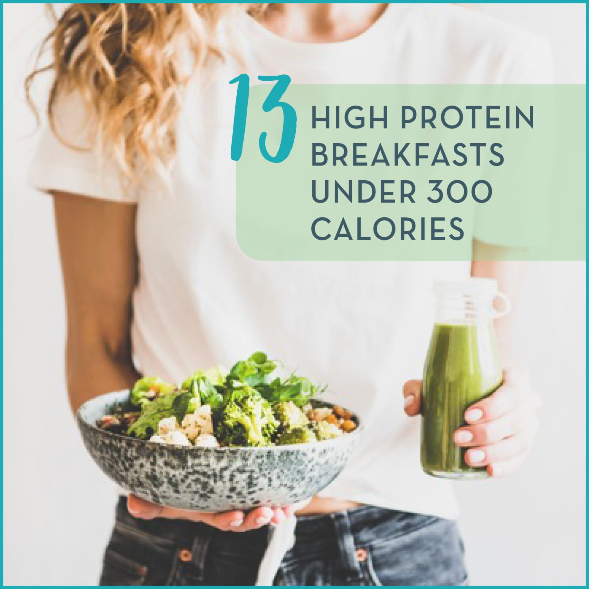 12 High Protein Low Calorie Breakfasts - Get Healthy U - Healthy Recipes High Calories