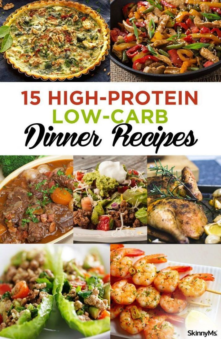 12 High-Protein Low-Carb Dinner Recipes | Dinner rezepte ..