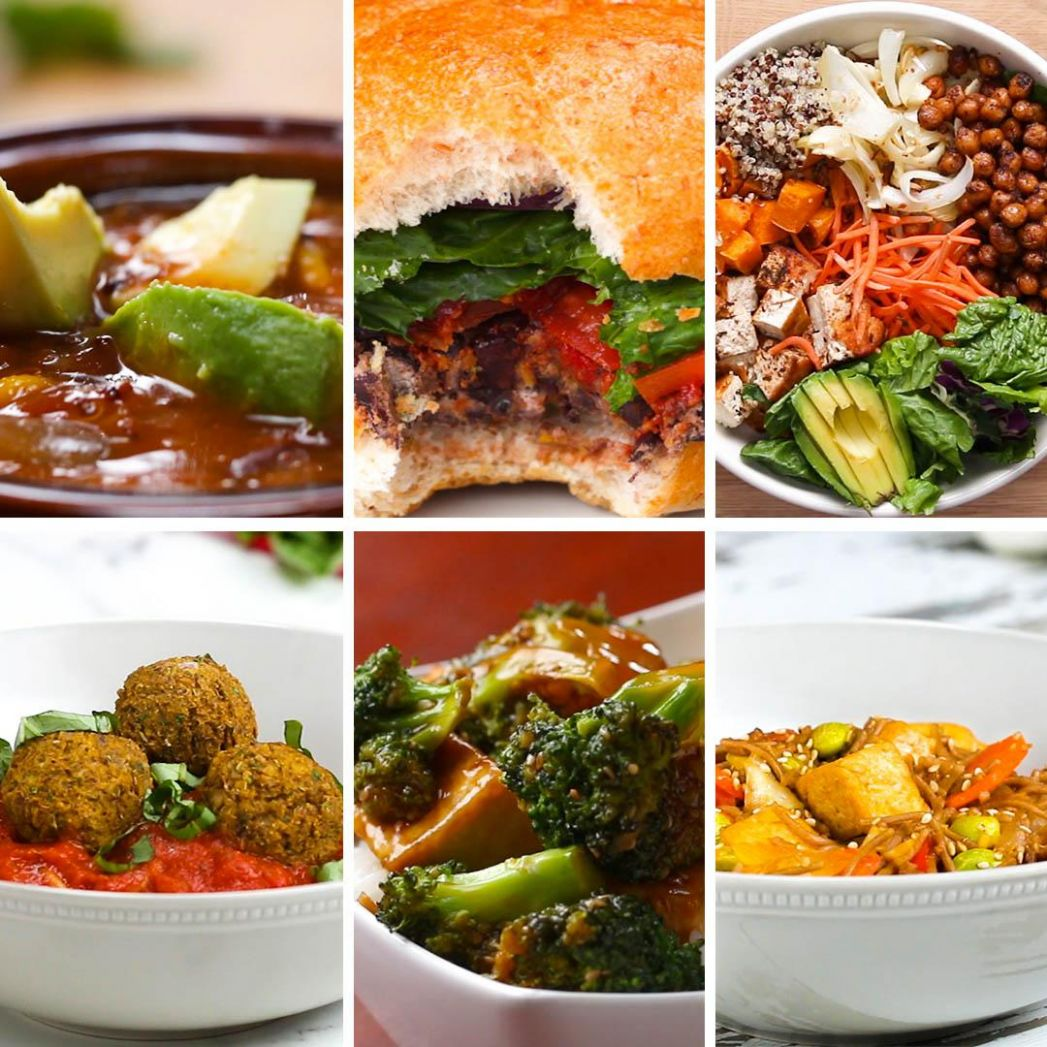 12 High Protein Vegetarian Dinners | Recipes - Recipes Vegetarian Protein