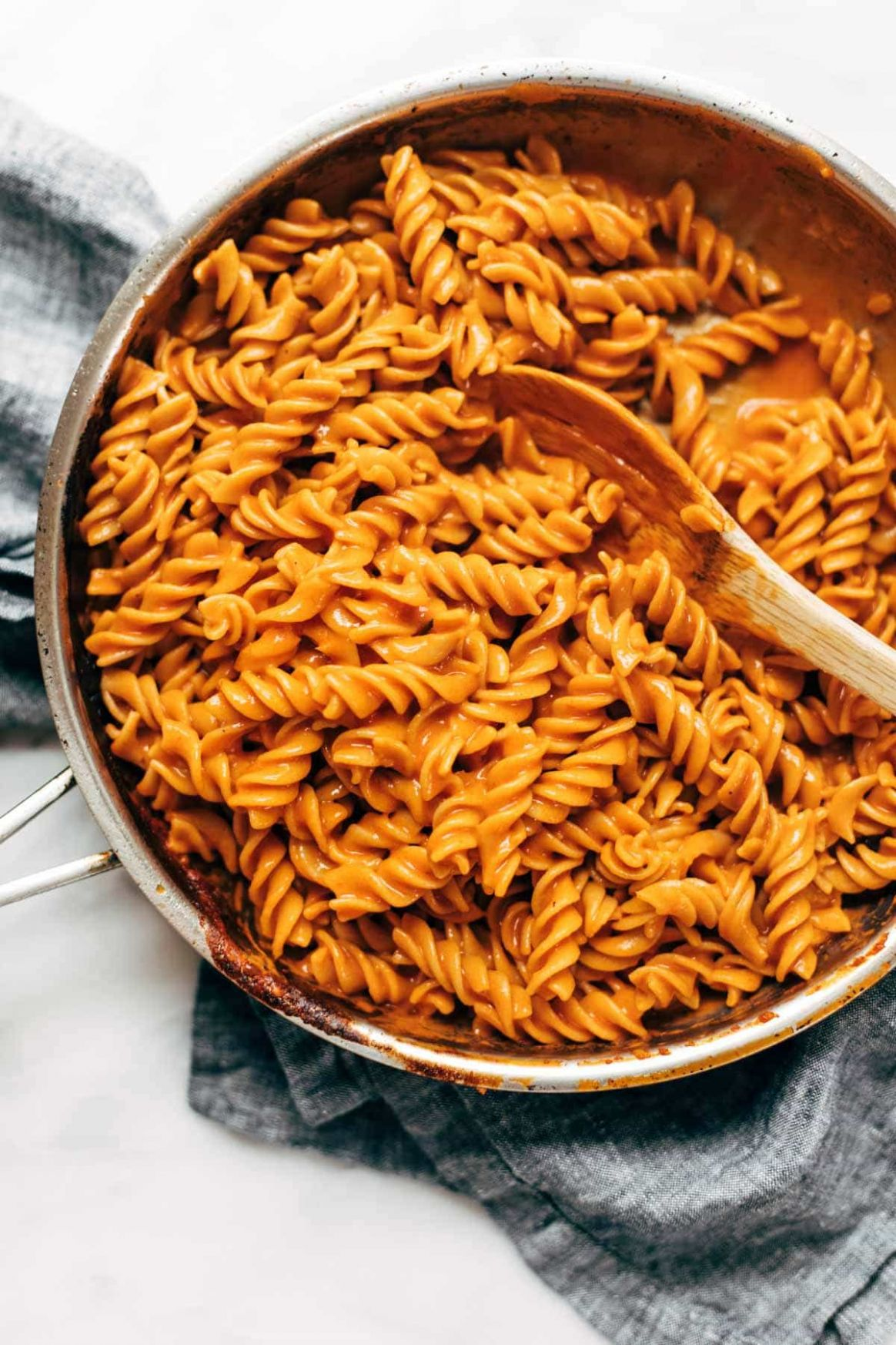 12 Ingredient Vegan Vodka Pasta Recipe - Pinch of Yum