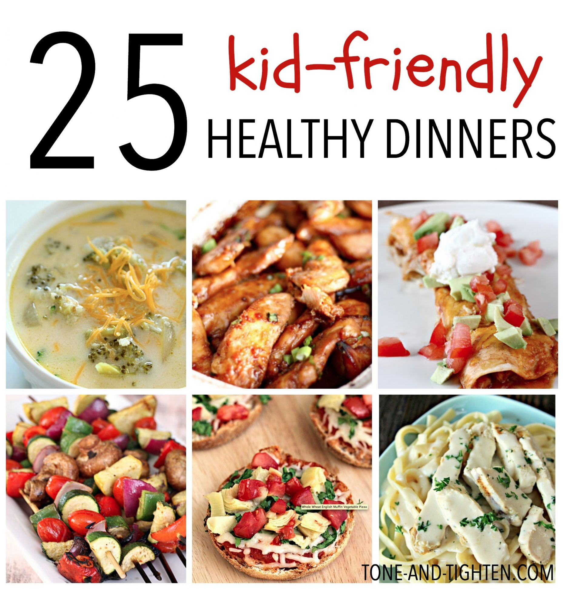 12 Kid-Friendly Healthy Dinners | Tone and Tighten - Healthy Recipes Kid Friendly Dinner