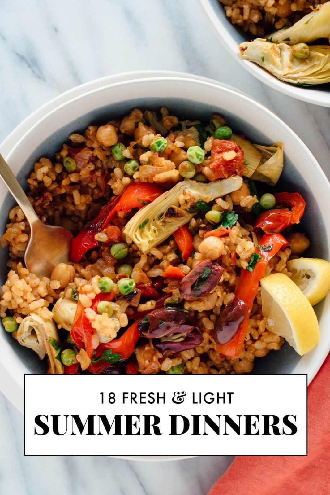 12 Light Summer Dinner Recipes - Cookie and Kate - Recipes Summer Dinner