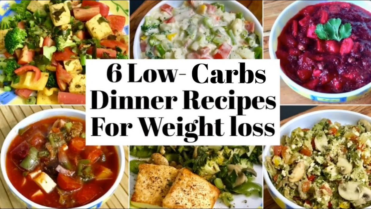 12 Low Carbs Dinner Recipes for Weight Loss | Healthy High Protein , low  carbs Veg Dinner Ideas - Healthy Recipes For Weight Loss Low Carb