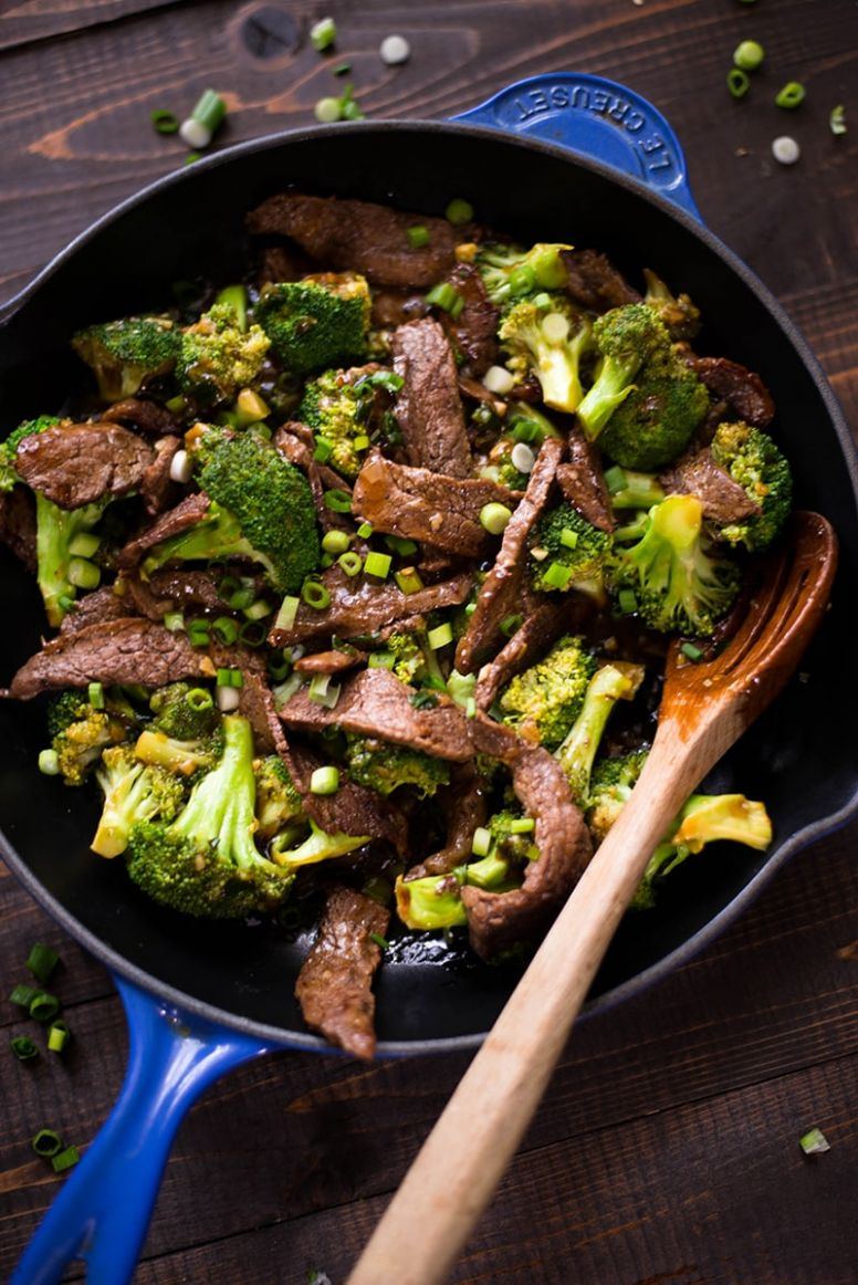 12-Minute Go-To Healthy Beef and Broccoli