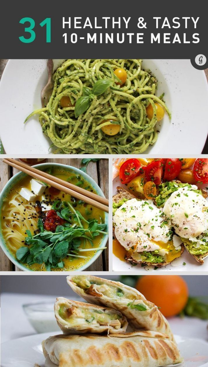 12-Minute Recipes—12 Healthy, Fast Meals | Healthy, Healthy ...