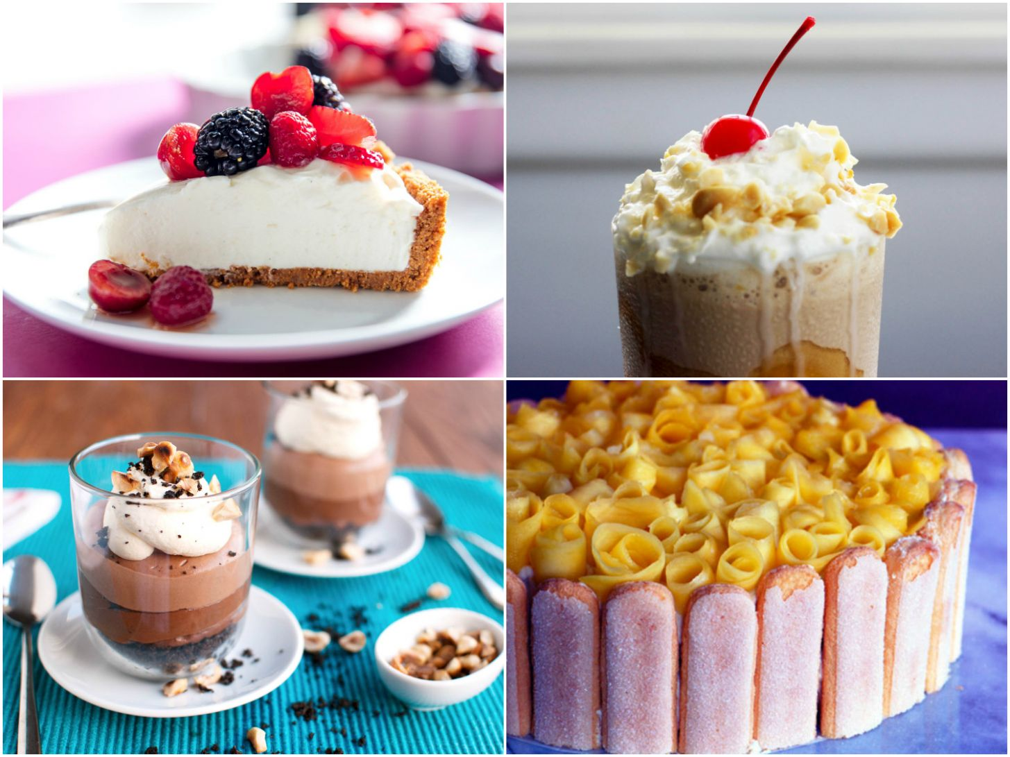 12 No-Bake Dessert Recipes for a Cool Summer Kitchen | Serious Eats - Summer Recipes Baking