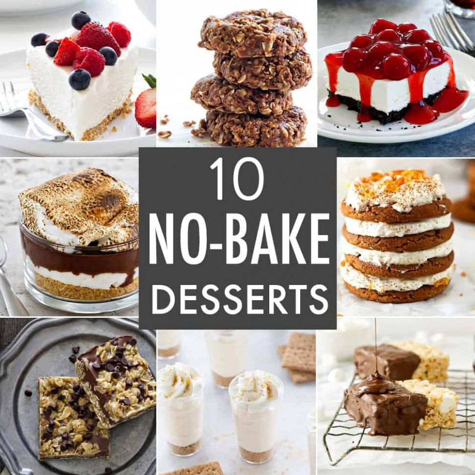 12 No-Bake Dessert Recipes - My Baking Addiction