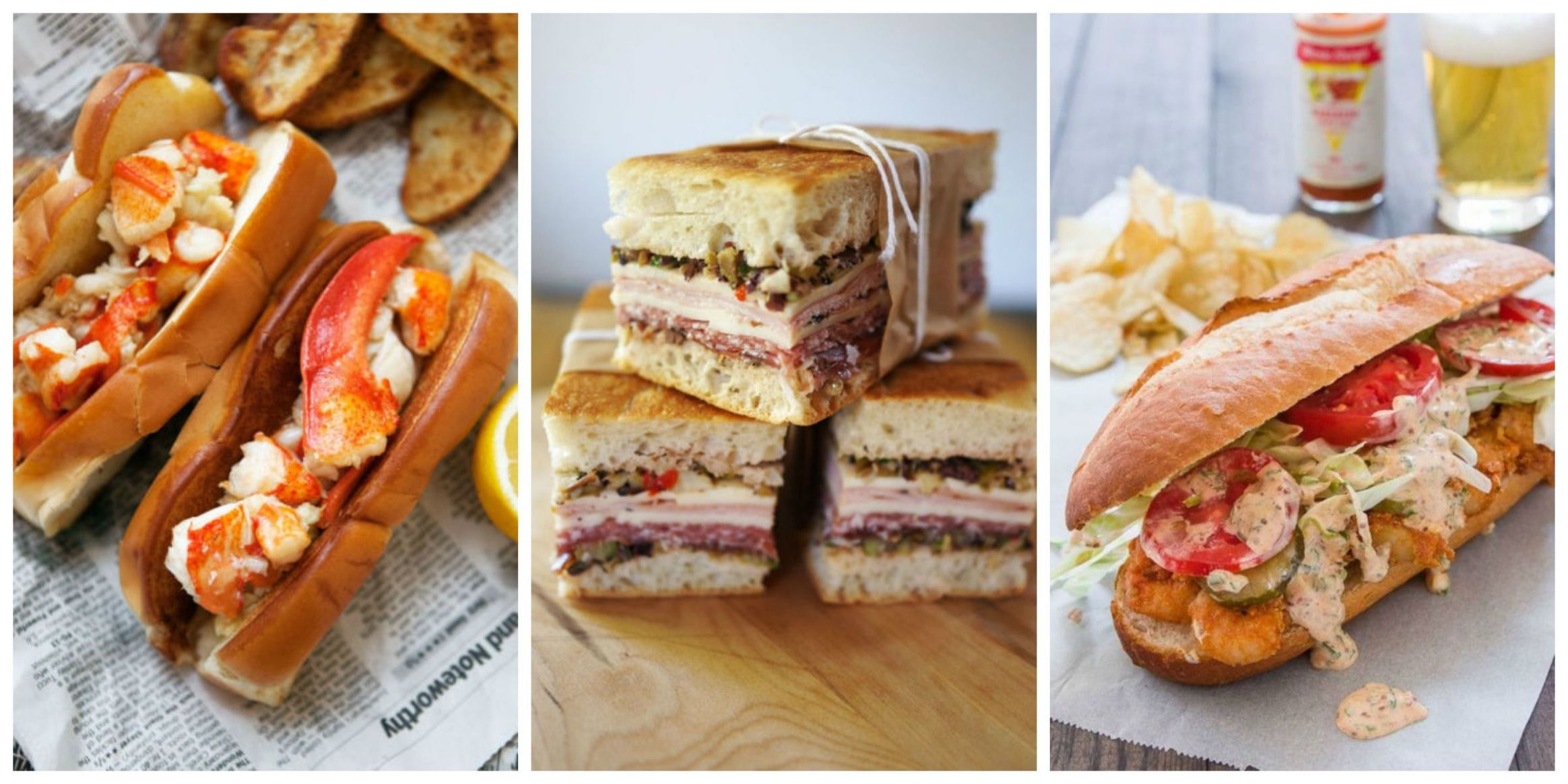 12 of America's Most Popular Sandwiches - American Sandwiches Recipes
