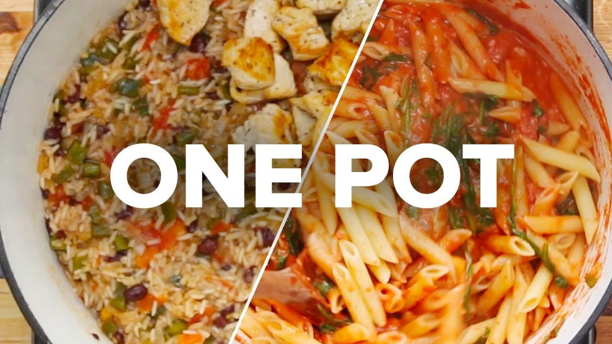 12 One-Pot Recipes - Easy Recipes One Pot