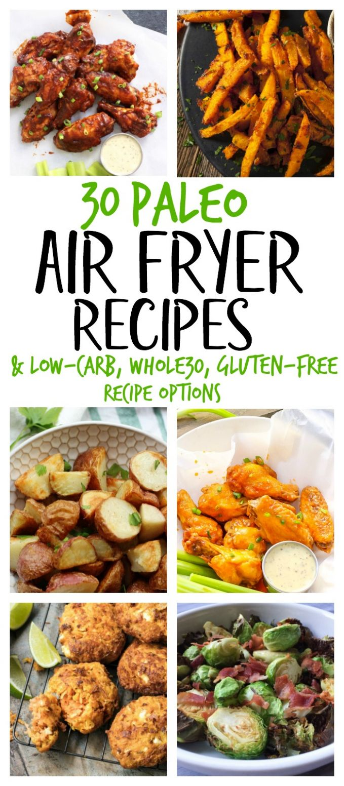 12 Paleo Air Fryer Recipes (Gluten Free, Whole12) - Whole Kitchen Sink - Healthy Recipes In Air Fryer