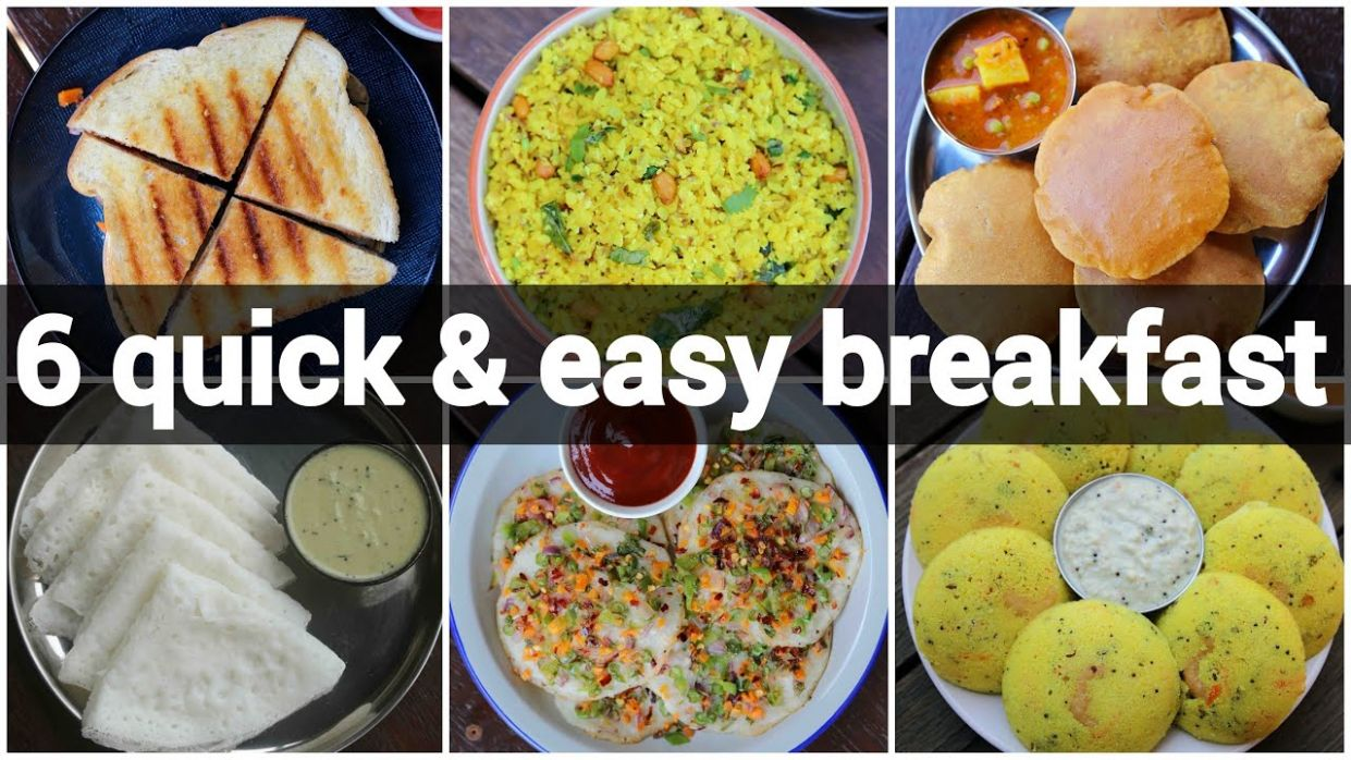 12 quick & easy indian breakfast recipes | instant morning breakfast recipes - Breakfast Recipes Quick And Easy Indian