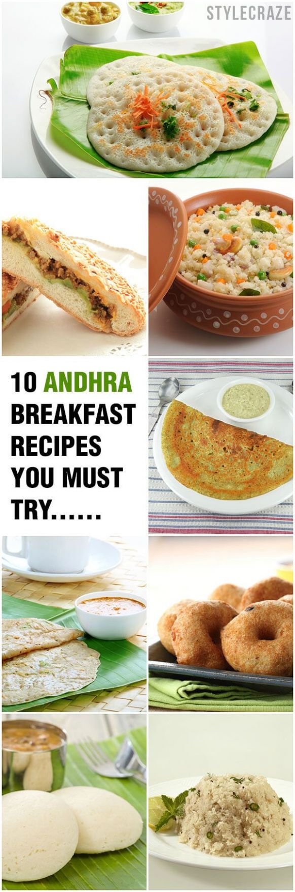 12 Quick And Simple Andhra Breakfast Recipes You Must Try   Andhra ..