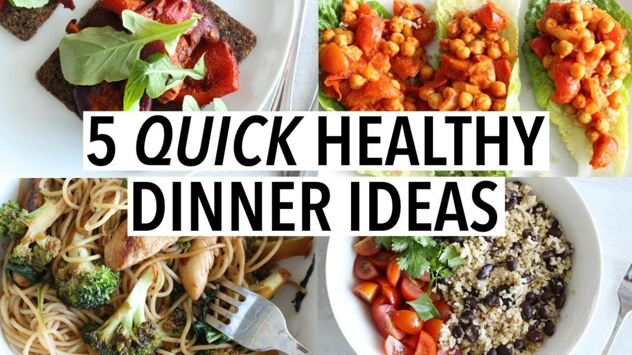 12 QUICK HEALTHY DINNER IDEAS | Easy weeknight recipes!