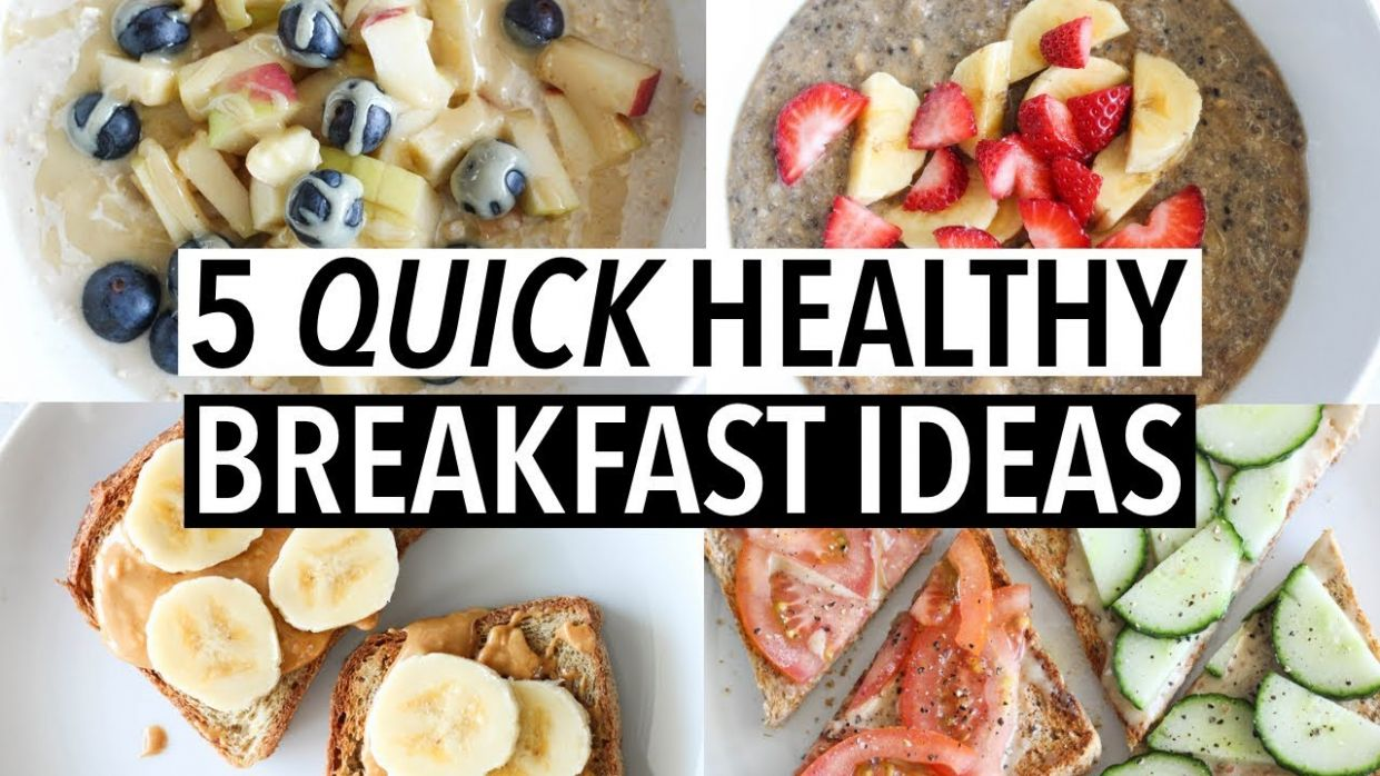 12 QUICK HEALTHY WEEKDAY BREAKFASTS | Easy ideas + recipes!
