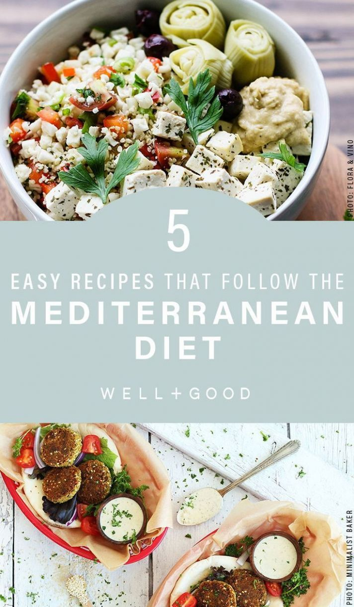 12 recipes that make following the Mediterranean diet super easy ...
