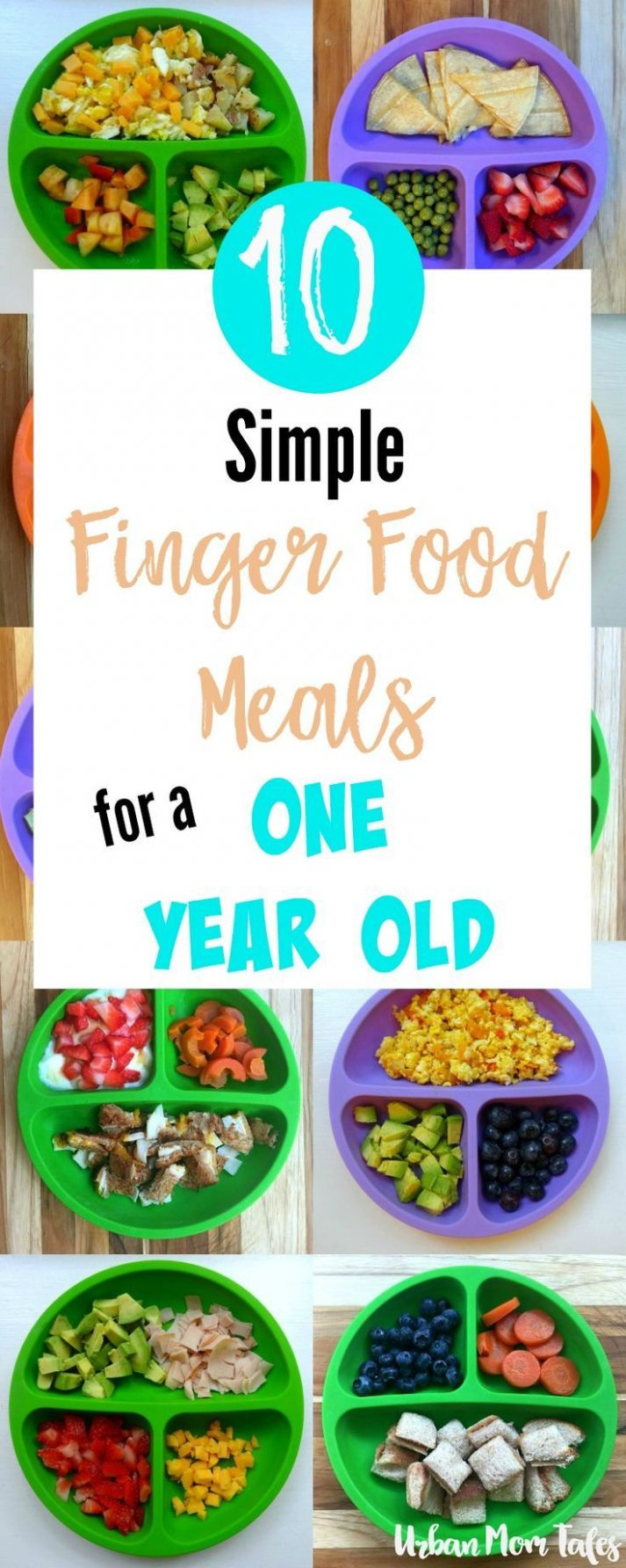 12 Simple Finger Food Meals for A One Year Old | Baby food recipes ..
