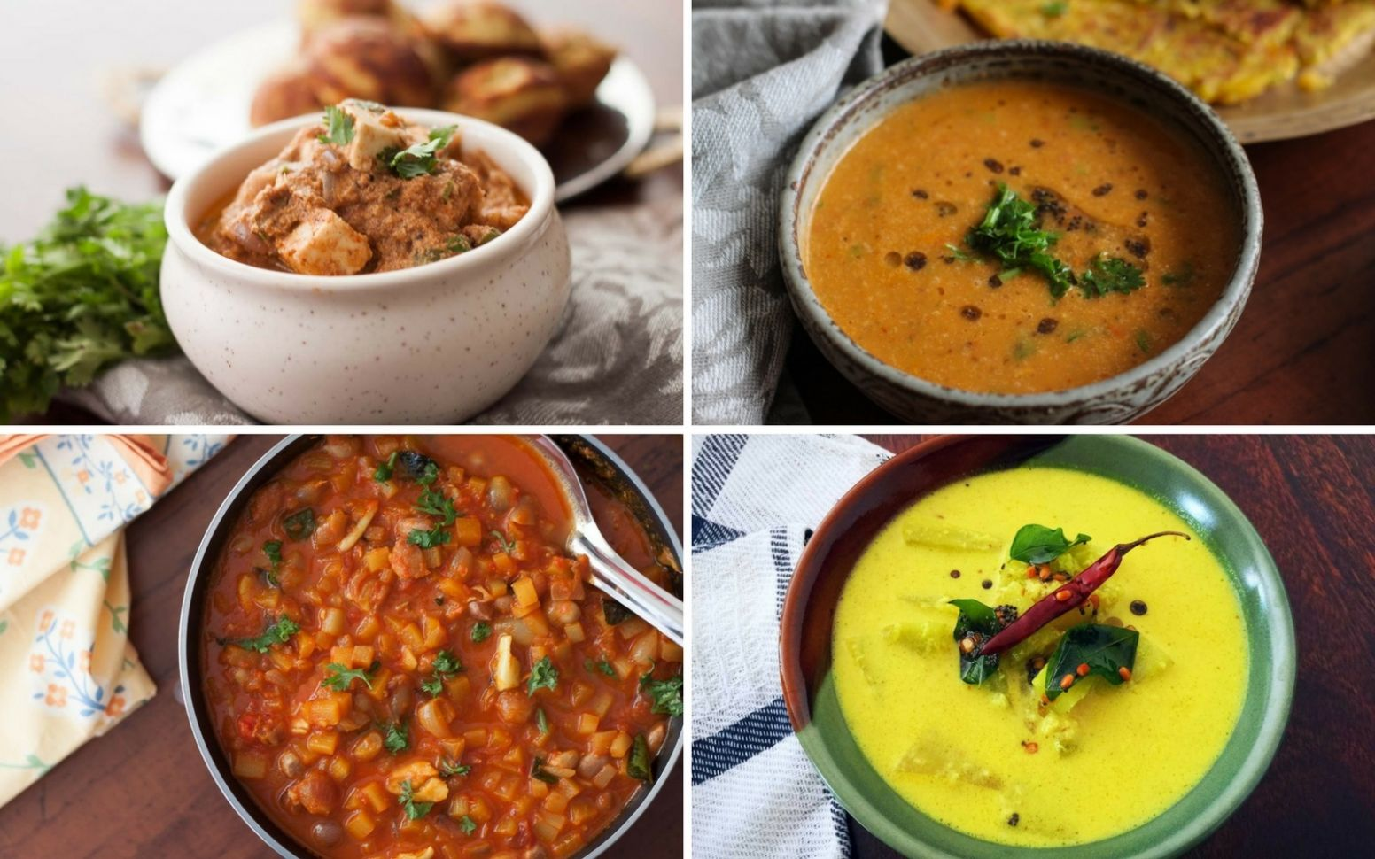 12 South Indian Vegetarian Curry Recipes That You Will Absolutely ...