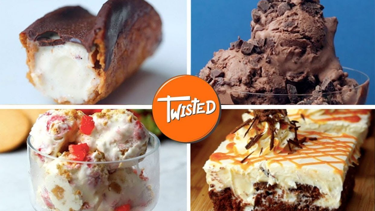 12 Tasty Ice Cream Dessert Recipes - Dessert Recipes Ice Cream