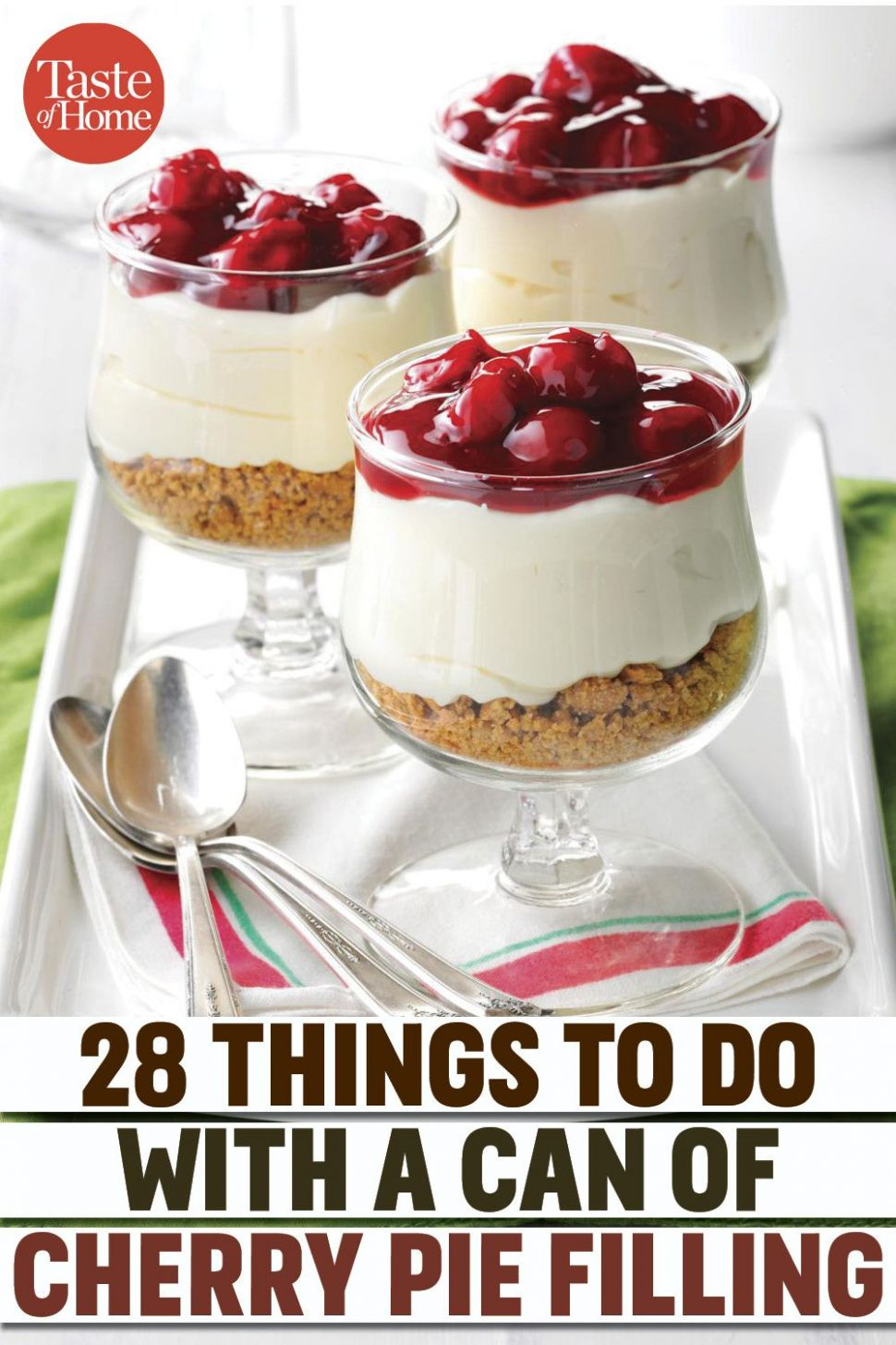 12 Tasty Ways to Use a Can of Cherry Pie Filling in 12 | Easy ..
