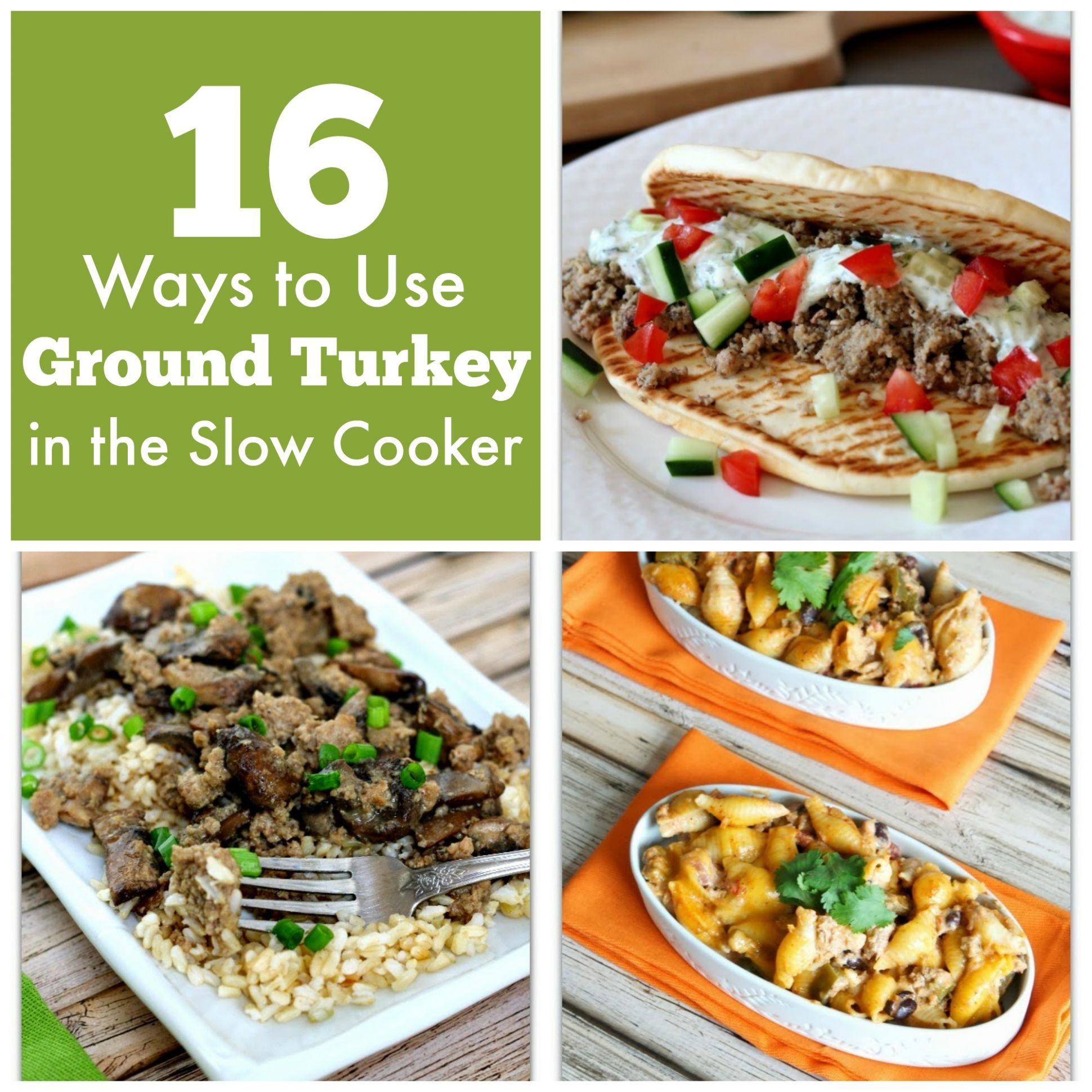 12 Ways to Use Ground Turkey in the Slow Cooker (plus 12 bonus ..