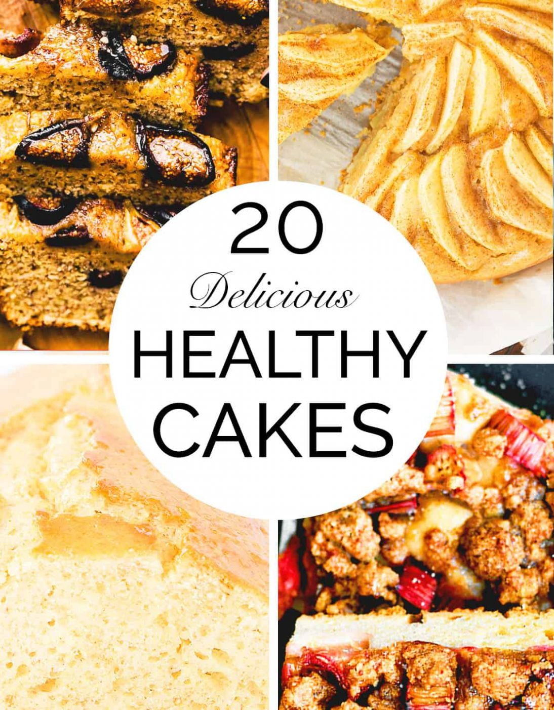 12 WHOLESOME & HEALTHY CAKE RECIPES - The clever meal - Healthy Recipes Baking