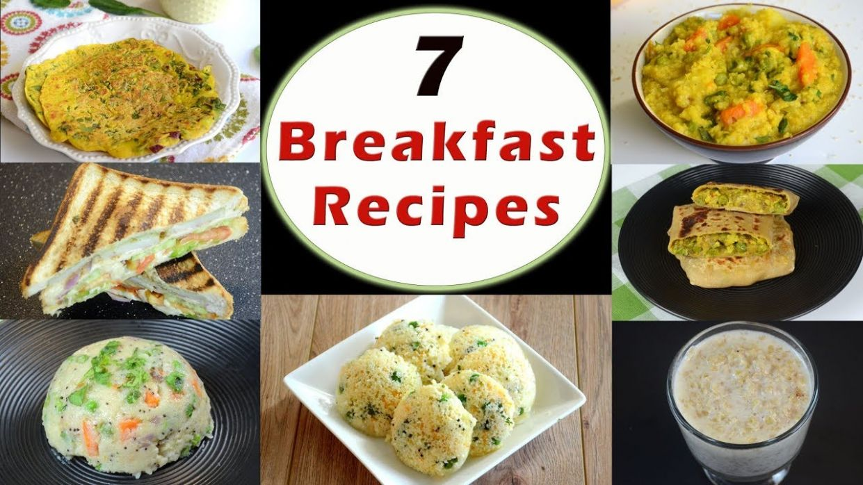 122 Breakfast Recipes - Part 12 | Indian Breakfast Recipes | Healthy and Quick  Breakfast Recipes - Breakfast Recipes Quick And Easy Indian