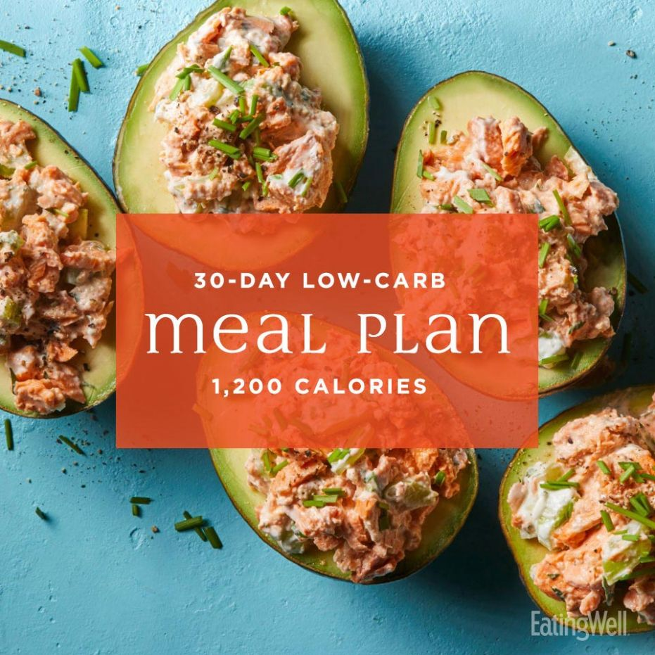 122-Day Low-Carb Meal Plan: 12,12 Calories | EatingWell - Healthy Recipes For Weight Loss Low Carb