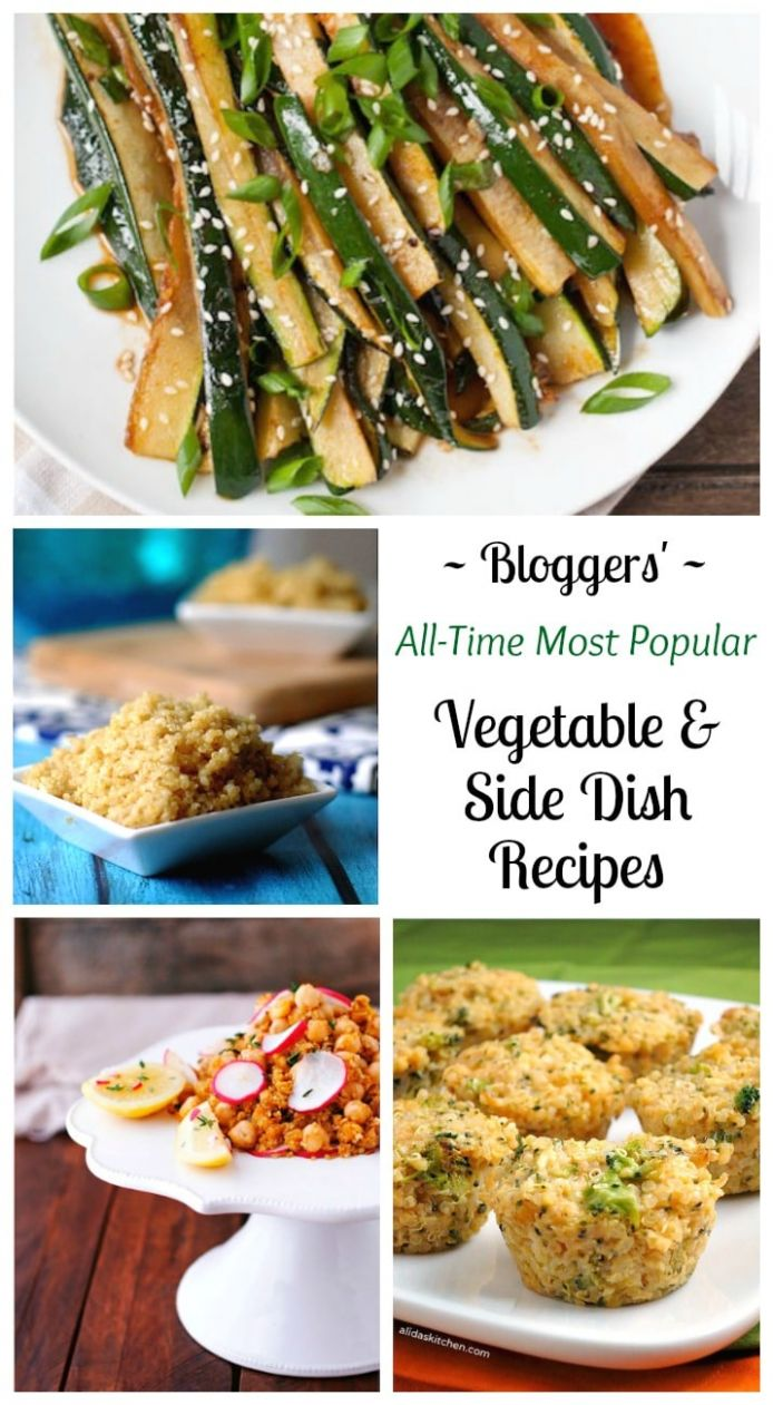 8 All-Time Best Healthy Side Dish and Vegetable Recipes - Two ..