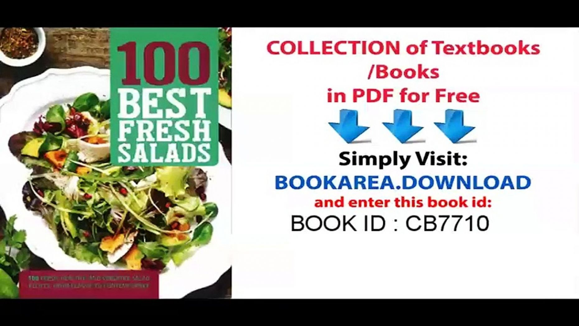 8 Best Fresh Salads - Salad Recipes Pdf Free Download