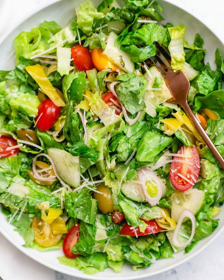 8 Best Green Salad Recipes – A Couple Cooks - Salad Recipes Leafy Green