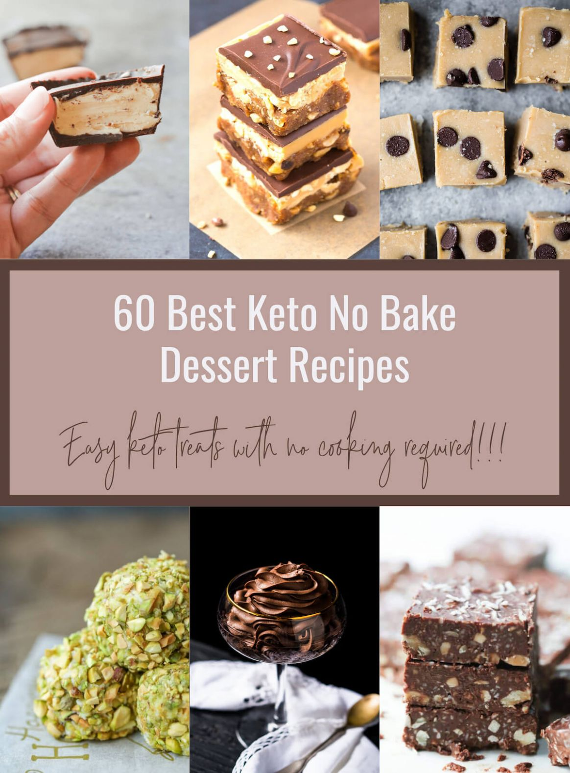 8 Best Keto No Bake Desserts - Low Carb | I Breathe I'm Hungry