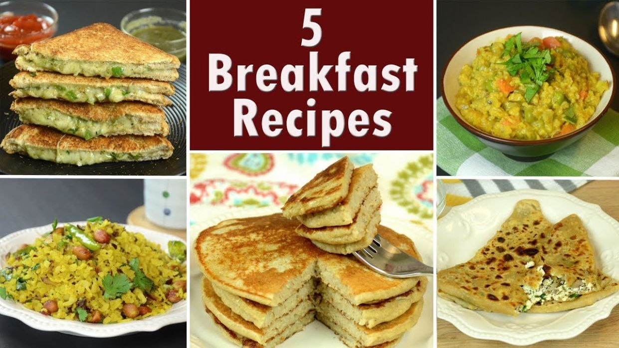 8 Breakfast Recipes - Part 8 | Indian Breakfast | Easy and Quick Breakfast  Recipes