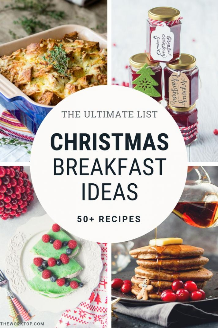 8+ Christmas Breakfast and Brunch Recipes | The Worktop - Breakfast Xmas Recipes